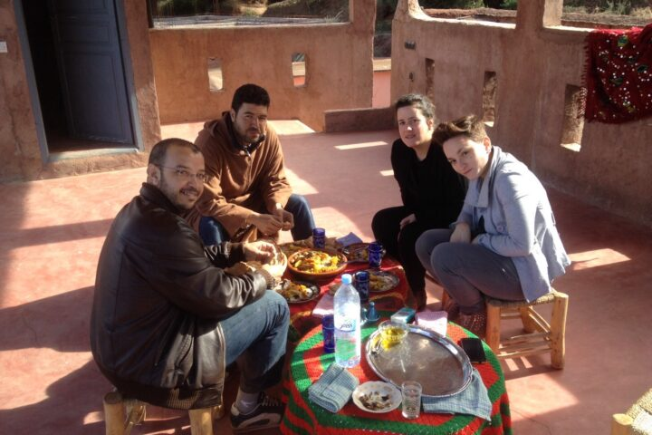 Excursion Ouirgane |dejeuner berbere chez l,habitant