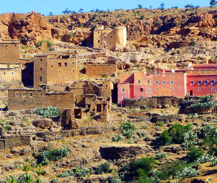excursion Les 3 vallee Villages berberes