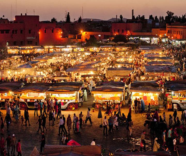 Decouverte a Marrakech Jamaa El Fna