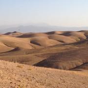 Dunes desert agafay