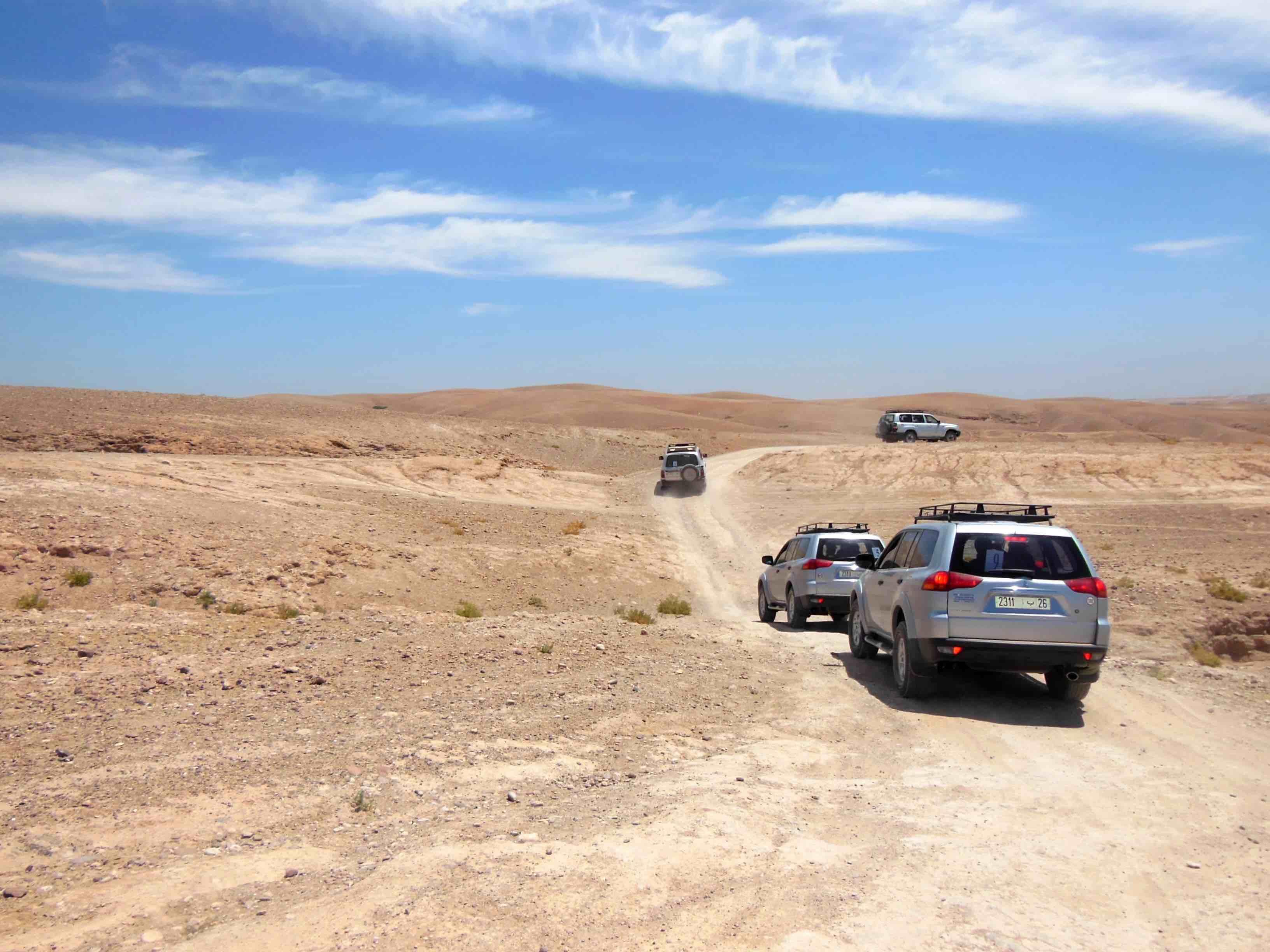 Piste Desert Agafay