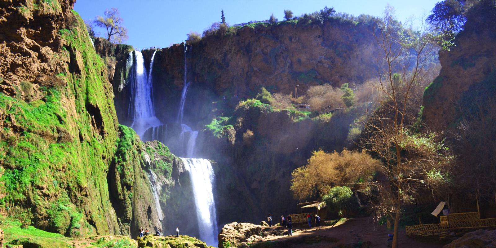 Tour to Ouzoud Waterfalls: Big falls in the Atlas | Maroc Excursion